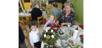 Adventna delavnica s starimi starši v oddelku otrok od 3 do 4 let